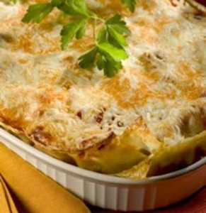 Four Cheese Vegetarian Lasagne